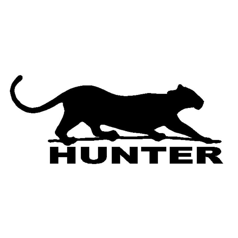 15.9 cm * 6.7 cm Cougar Hunter Hayvan Dekor Vinil Araba Sticker S4-0470