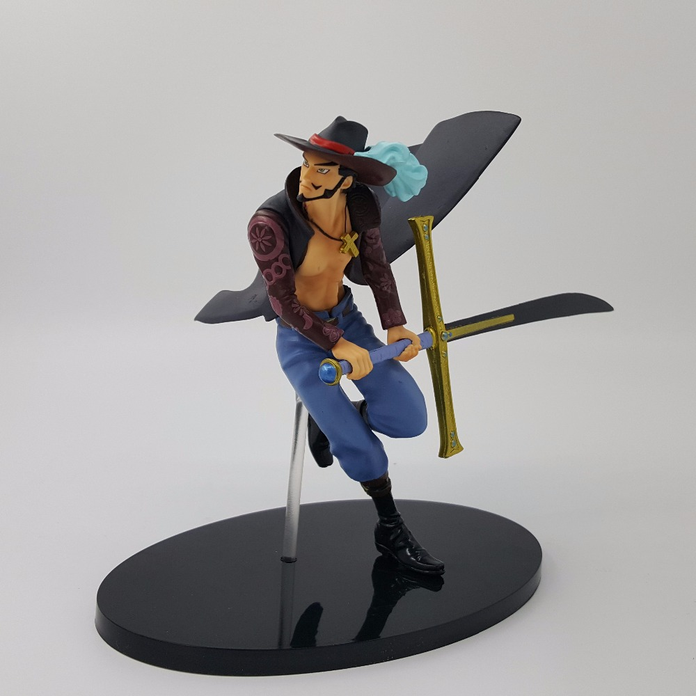 One Piece Action Figure Mihawk PVC Koleksiyon Model Oyuncak One Piece Anime DXF Mihawk Oyuncaklar Bebek