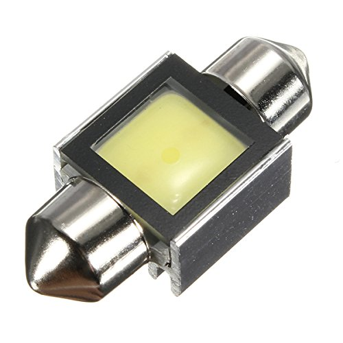 4 Adet 31mm HPC COB C5W 3 WATT LED Soffitte Can-Bus sicher weib Lampe Festoon