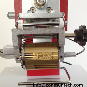 ZY-RM2-DP Pneumatic Dialling code printer,Dial coding machine,Automatic Stamping Machine,leather LOGO Creasing machine