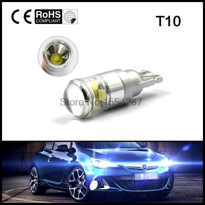 T10 W5W 194 168 912 4-LED 2835 SMD + 4W License Plate Parking Interior Lights Canbus error free