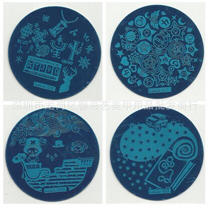 Hive Flower Pattern etc hehe 1-36 Series Nail Art Image Plate Stamper Stamping 36 Designs Manicure Template For Choose