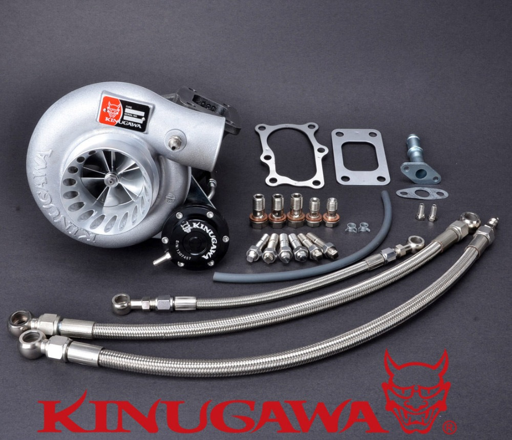 "Kinugawa Turbo 3 ""Anti Dalgalanma TD06SL2-20G Nissan için 10 cm T3 RB20DET RB25DET Bolt-On"